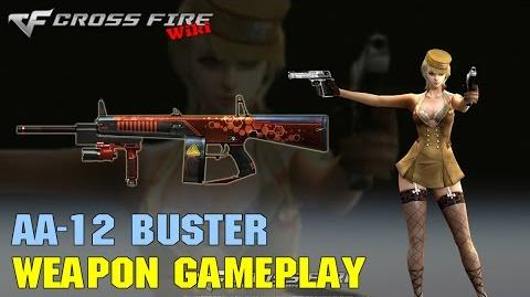 CrossFire - AA-12 Buster - Weapon Gameplay