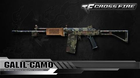 CrossFire Korea Galil-Camo ☆
