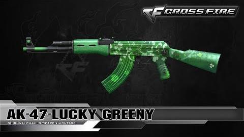 CrossFire Vietnam 2.0 AK-47-Lucky Greeny (St