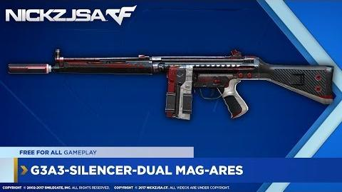 G3A3-Silencer-Dual Mag-Ares CROSSFIRE Indonesia 2