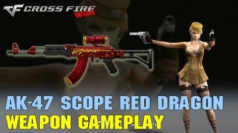 CrossFire - AK-47 Scope RD - Weapon Gameplay