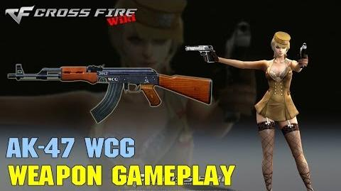 CrossFire - AK-47 WCG - Weapon Gameplay