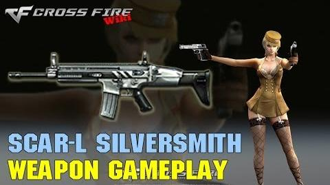 CrossFire - SCAR-Light Silversmith - Weapon Gameplay