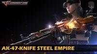 CrossFire Vietnam AK-47-Knife Steel Empire VVIP Weapon