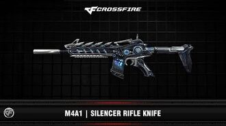 CF M4A1 Silencer Rifle Knife