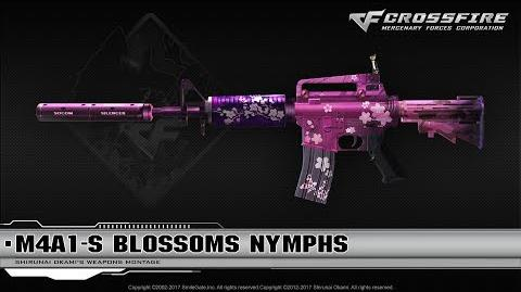 CrossFire China M4A1-S Blossoms Nymphs