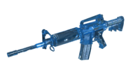 M4A1 Blue Crystal Render2