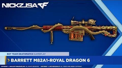 Barrett M82A1-Royal Dragon 6 CROSSFIRE China 2.0 EXP