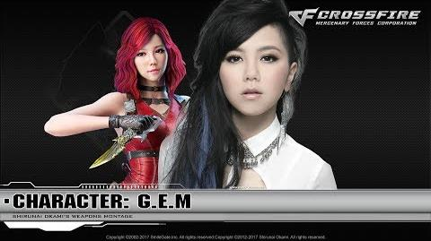 CrossFire Character G.E