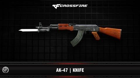 CF AK-47 Knife