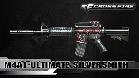 CrossFire Vietnam M4A1-S Ultimate Silversmith ☆