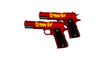 DUAL COLT RED DRAGON RD1