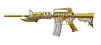 M4A1BeastNobleGold