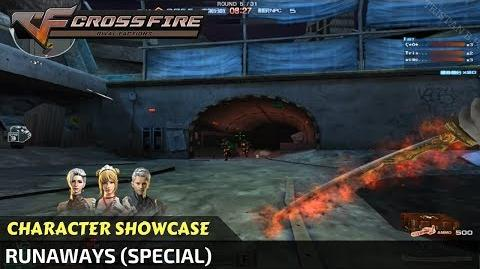 CrossFire - Runaways (Character) Special in Zombie Mode VVIP Character