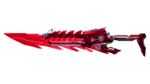 M4A1-SILENCER RIFLE KNIFE RED 2