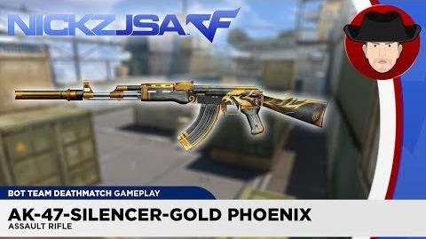 AK-47-Silencer-Gold Phoenix CROSSFIRE China 2.0 (EXP)