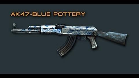 Cross Fire China AK-47 Blue Pottery Review !-0