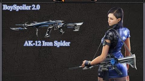 Crossfire Philippines - AK-12 Iron Spider (FFA)