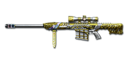 Barrett M82A1 Born Beast Imperial Gold