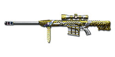 Barrett M82A1 Born Beast Imperial Gold