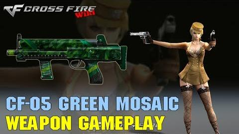 CrossFire - CF-05 Green Mosaic - Weapon Gameplay