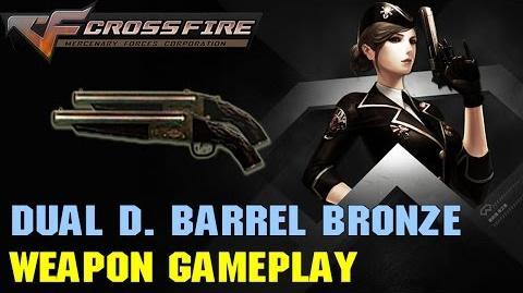 CrossFire VN - Dual Double Barrel Bronze
