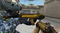 CF News Scorpion EVO3A1-Gold Black (EVOⅢ-黑金传说) CrossFire China - GAMEMASSACRE