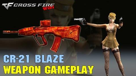 CrossFire - CR-21 Blaze - Weapon Gameplay