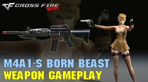 CrossFire - M4A1-S Born Beast VVIP - Weapon Gameplay