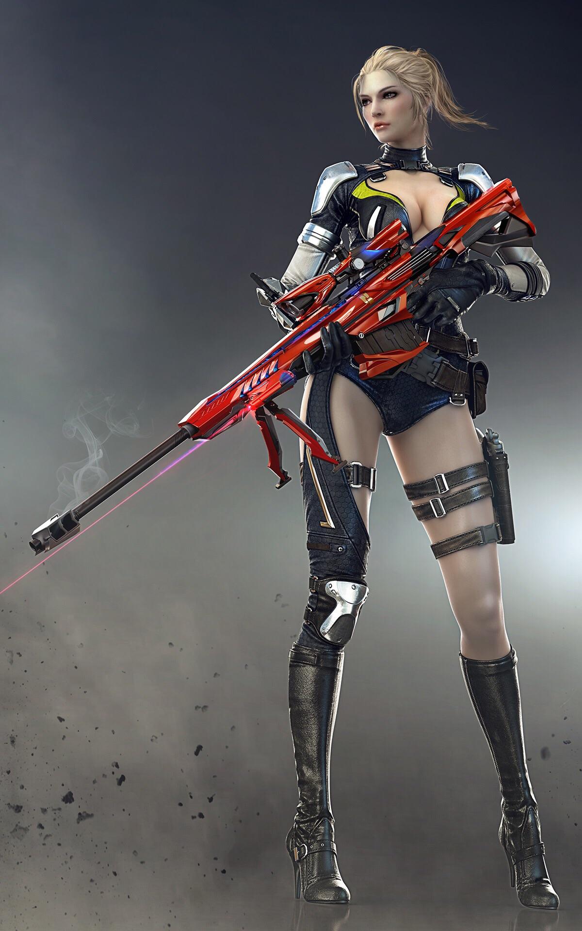 Barrett M82A1-Iron Shark | Crossfire Wiki | FANDOM powered