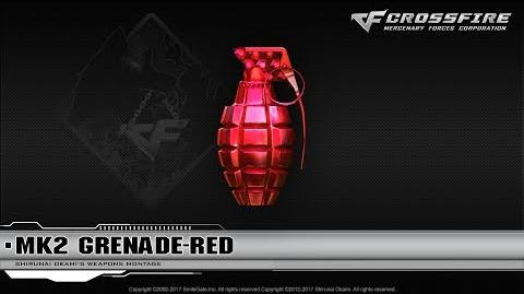 CrossFire China MK2 Grenade-Red (Rank)