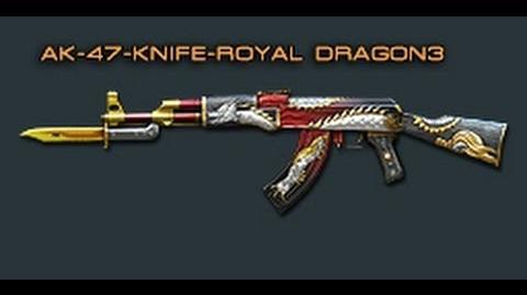 Cross Fire China -- AK-47 Knife-Royal Dragon 3 -Review-!