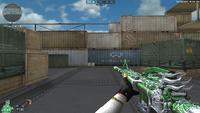 M4A1 S G SPIRIT GREEN HUD