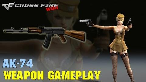 CrossFire - AK-74 - Weapon Gameplay