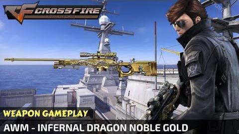 CrossFire - AWM - Infernal Dragon Noble Gold