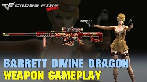 CrossFire - Barrett M82A1 Divine Dragon - Weapon Gameplay