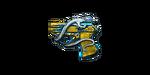 COP 357 BLUE SILVER DRAGON 2