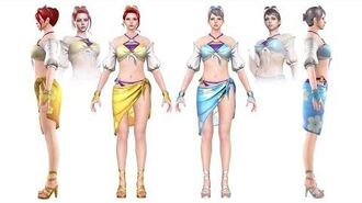 CrossFire China NYMPHS-Seaside (樱-缤纷夏日) Character Review CF News
