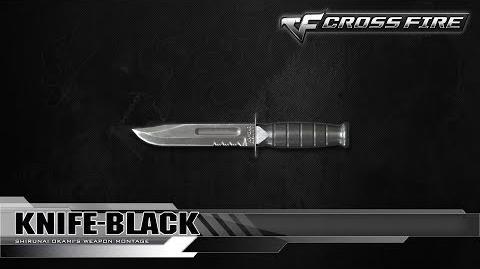 CrossFire Vietnam Knife-Black ☆