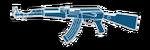 AK47 BLUECRYSTAL HUD