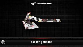 CF B.C Axe Mirror