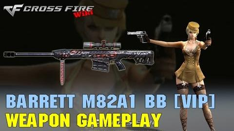 CrossFire - Barrett M82A1 Born Beast - Weapon Gameplay
