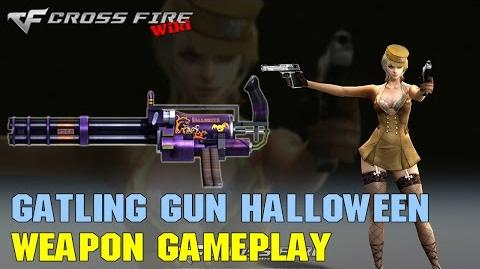 CrossFire - Gatling Gun Halloween - Weapon Gameplay