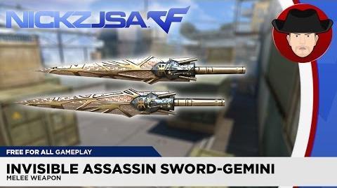 Invisible Assassin Sword-Gemini CROSSFIRE Indonesia 2