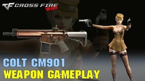 CrossFire - CM901 - Weapon Gameplay