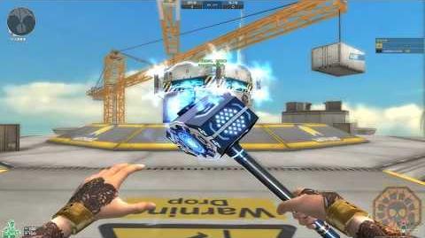 【CF】 Cross Fire China KnockBack Hammer Lv Max - Tower Knock Back (KnockBack Mode)!