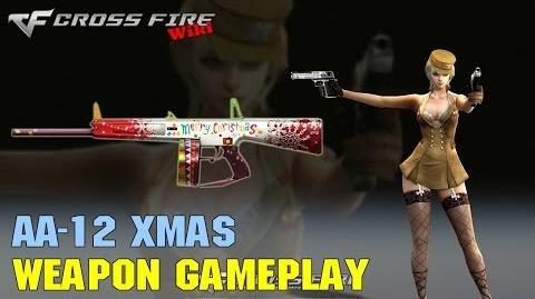 CrossFire - AA-12 Xmas - Weapon Gameplay