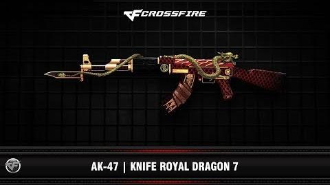 CF AK-47 Knife Royal Dragon 7
