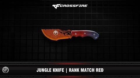 CF Jungle Knife Rank Match Red