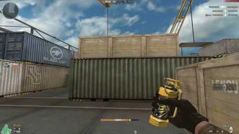 Cross Fire China -- Wide Grenade-Gold Phoenix!